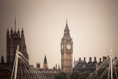 Big Ben in Westminster, London England UK Royalty Free Stock Image