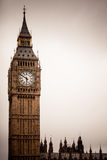 Big Ben in Westminster, London England UK Stock Photography