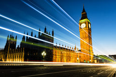 Big Ben at Westminster in London Royalty Free Stock Photos