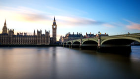 Big Ben at Westminster in London Stock Photography