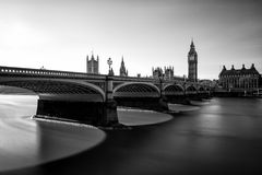 Big Ben at Westminster in London Stock Photo