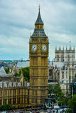 Big Ben Westminster London. A picture of the iconic Big Ben clock in the capital of England - London (June 2015 Stock Photography