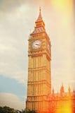 Big Ben in Westminster, London, UK. Retro filter effect. Big Ben in Westminster, London. Retro filter effect Stock Photography