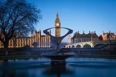Big Ben a Westminster a Londra Immagine Stock