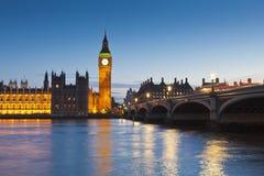 Big Ben, Westminster, Londres, Reino Unido Imagen de archivo libre de regalías