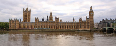 Big Ben and Westminster palace Royalty Free Stock Photography