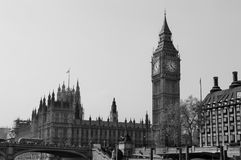 Big Ben. Westminster palace in Great Britain Stock Photo