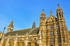 Big Ben and Westminster Palace, London Stock Photography