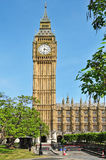 Big Ben and Westminster Palace, London Stock Photo
