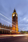 Big Ben and Westminster Palace, London Royalty Free Stock Photo