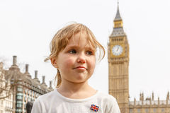Big Ben and Westminster in spring Royalty Free Stock Photo