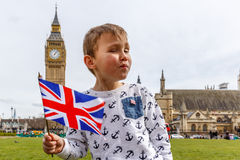 Big Ben and Westminster in spring Stock Photography