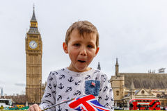 Big Ben and Westminster in spring Stock Photo