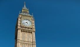 Big Ben wielki zegarowy wierza w Londyn Zdjęcie Stock