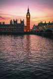 Big Ben y casas del parlamento, Londres, Reino Unido imágenes de archivo libres de regalías
