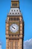 Big Ben zakończenie w górę widoku Fotografia Royalty Free