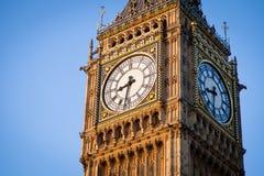 Big Ben in zentralem London lizenzfreie stockfotografie