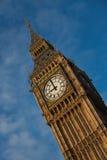 Big Ben in zentralem London lizenzfreie stockfotos