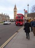 Big Ben in zentralem London lizenzfreie stockbilder