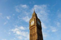 Big Ben in zentralem London lizenzfreies stockbild
