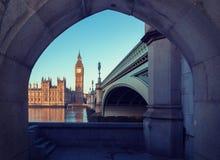 Big Ben in zentralem London stockfotos