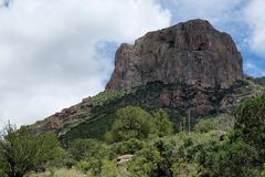 Big Bend Butte Royalty Free Stock Photography