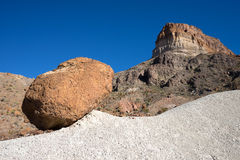 Big bend national park geology Royalty Free Stock Images