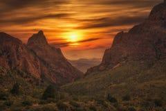 Free Big Bend National Park Mountain Sunset Stock Photos - 179160183