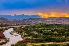 Free Big Bend National Park, Near Mexican Border, USA, Sunset Stock Photos - 158526833