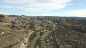 big bend national park-rio grand river stock footage