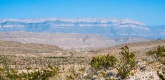 big bend park narodowy Zdjęcia Stock