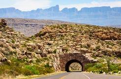 big bend park narodowy fotografia stock