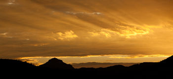 Big Bend Sunrise Stock Photography