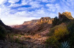Big Bend Sunrise. Stunning sunrise in Big Bend National Park royalty free stock photo