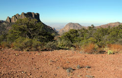 Big Bend View Royalty Free Stock Image