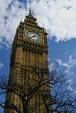 Big- Benkontrollturmborduhr London Lizenzfreie Stockfotografie