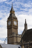 Big- Benund London-Auge Lizenzfreie Stockfotos
