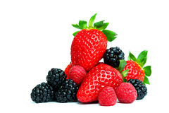 Big berry pile Royalty Free Stock Image