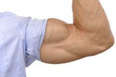 Big biceps Stock Image