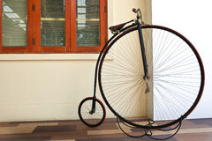 Big bicycle Stock Image