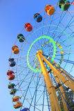 Big big wheel in park Royalty Free Stock Image
