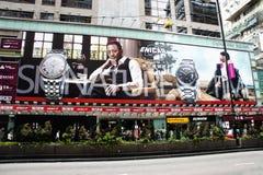 Big Billboard at Argyle Street Royalty Free Stock Photo