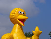 Big Bird Float In K-Days Parade Royalty Free Stock Image