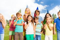 Big birthday Royalty Free Stock Photography