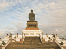 The big black buddha Royalty Free Stock Images