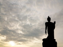 The big black buddha Stock Images