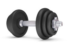 Big black dumbells Royalty Free Stock Photo