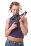 Big black gun Royalty Free Stock Image