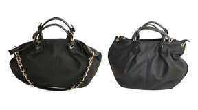 Big black handbag Royalty Free Stock Images