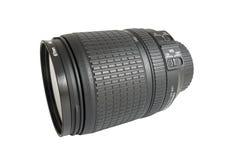 Big black lens Royalty Free Stock Photo